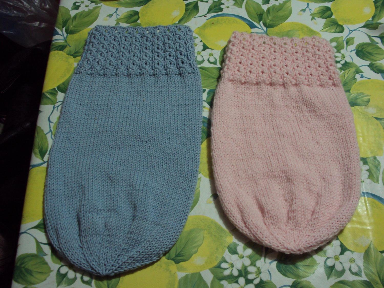 Favoloso basta un filo.. lavori a maglia per bambini: SACCO NANNA  CB54