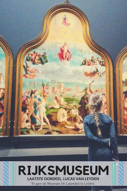 Het laatste oordeel, tijdelijk hangend in het Rijksmuseum.