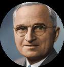 A photograph of Harry S. Truman