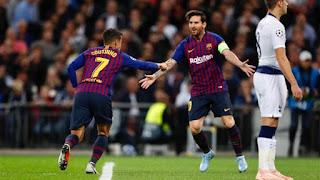 بث مباشر مباراة برشلونة وتوتنهام اليوم 11/12/2018 دوري ابطال اوروبا Barcelona vs Tottenham live
