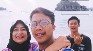 Devasetiawan.com - Crystal Bay Beach, Nusa Penida