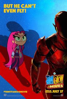 """Nuevos posters individuales de """"Teen Titan GO! to the Movies"""""""