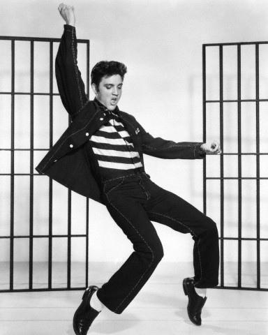 Foto de Elvis Presley muy joven