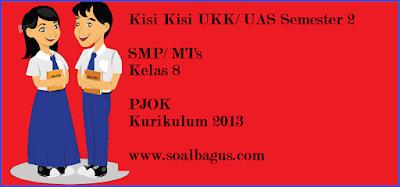 Download/ Unduh kisi kisi soal pjok smp/ mts kls 8 semester 2/ genap kurikulum 2013/ kurtilas/ K 13 tahun 2017 www.soalbagus.com