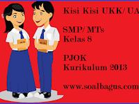 Kisi Kisi UKK PJOK Kelas 8 SMP/ MTs Kurikulum 2013