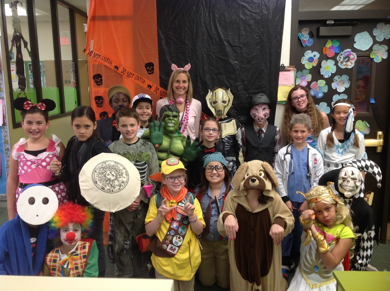 Mrs Diviacchi S 4th Grade Blog Halloween Party