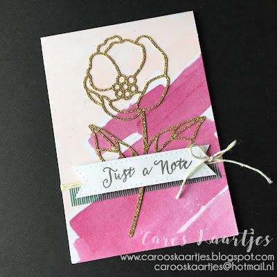 Stampin' Up! producten zijn verkrijgbaar in Nederland via Caro's Kaartjes; carooskaartjes@hotmail.nl