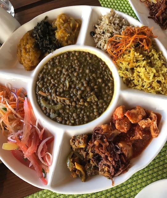 Le Fangourin, Mauritius, lentil stew