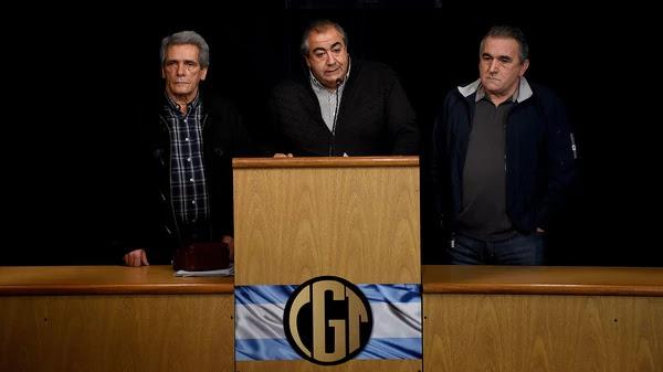 CGT rechaza ley de reforma laboral propuesta por Macri