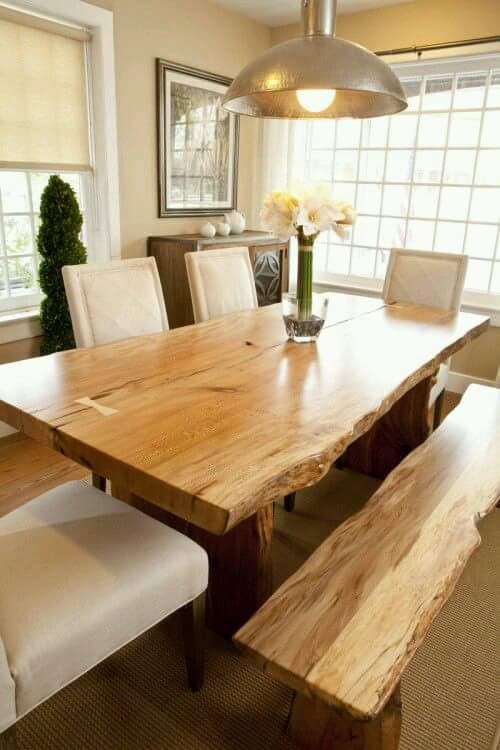 Arkydeck madera de parota no es ideal para muebles de for Comedores modernos con banca