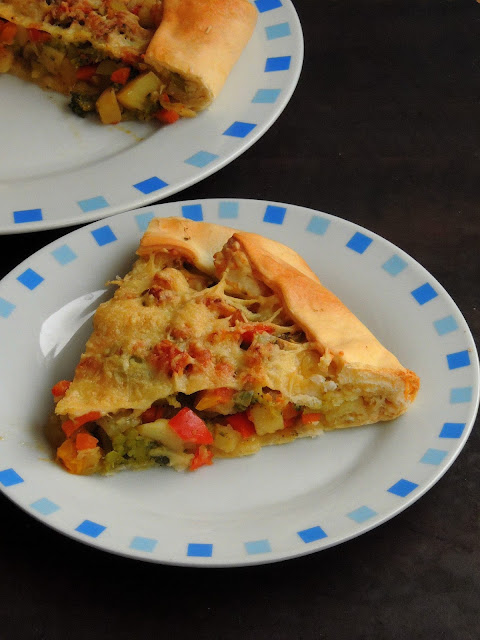 Cheese Vegetable Galette