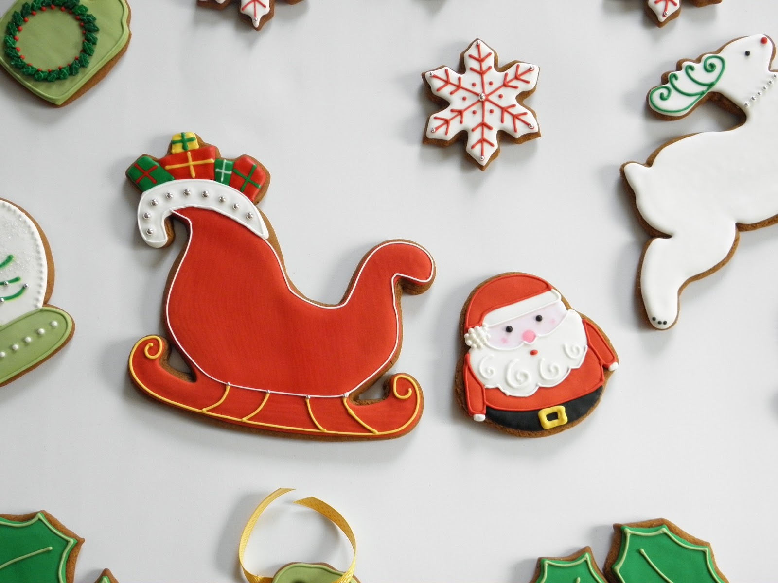 Good Things By David Here Comes Santa Claus Cookies