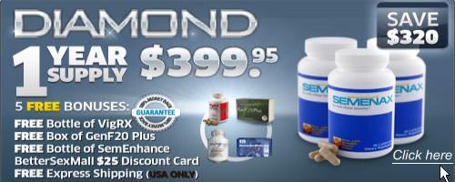 Semenax Pills Diamond Package