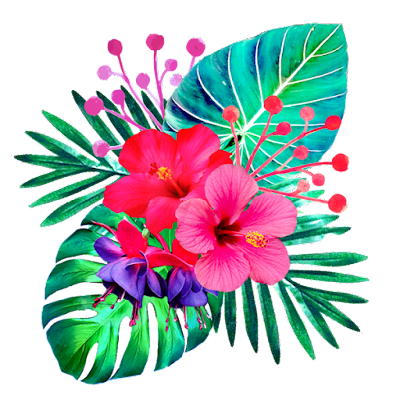 tropical illustration free download