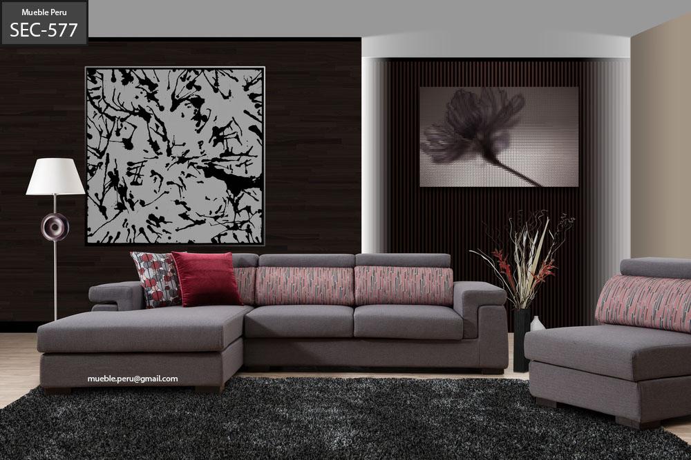 Mueble per muebles de sala muebles seccionales de - Diseno de muebles de sala ...