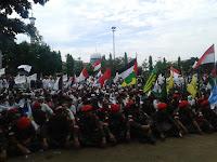 KOKAM Gelar Aksi Bela Palestina di Brebes