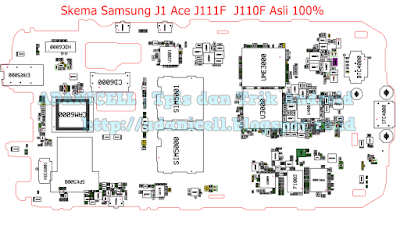 Skema Samsung J1 Ace J111F / J110F