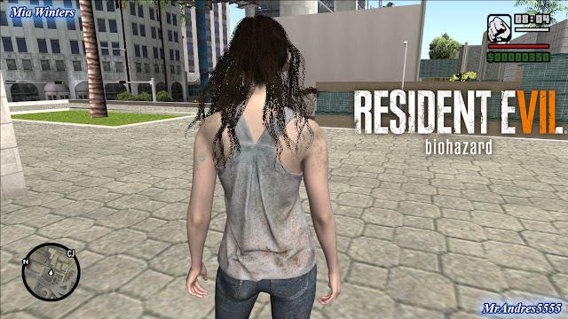 GTA-SA-Modificaciones: Skin Moira Burton Resident Evil