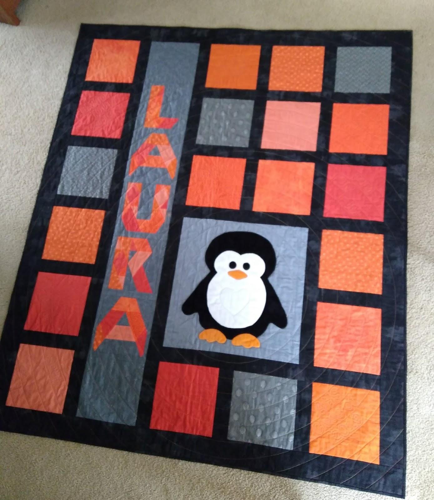 Penguin Quilt Is Home Again