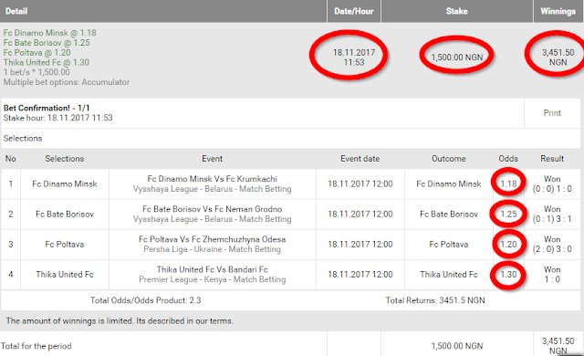 how to make money from sport betting in Nigeria
