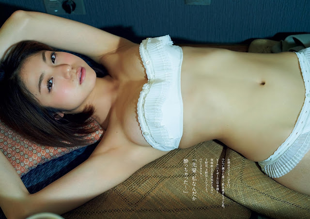 Shizuka Nakamura 中村静香 Weekly Playboy June 2017 Wallpaper HD