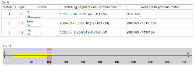 multiple matches on chromosome