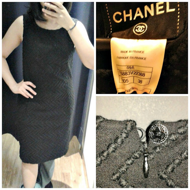 chanel-black-wool-dress-sleeveless