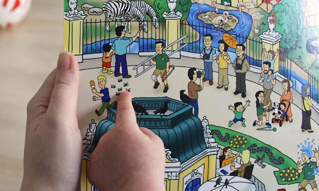 Mein Tiergarten Schönbrunn Wimmelbuch