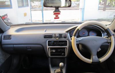 Interior Toyota Soluna 2000 2001 2002
