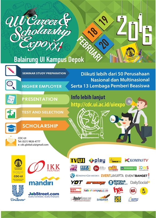 UI Career & Scholarship Expo XXI