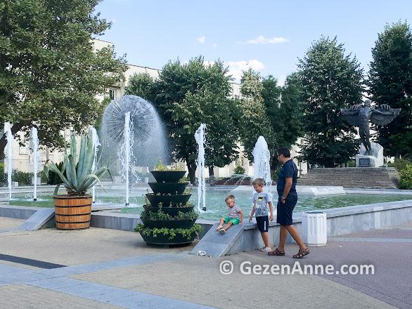 Haskovo parklarında çocuklar eğlendi, Bulgaristan