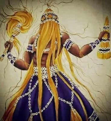Batuque do Rio Grande Sul Iansã Lendas dos Orixás Orixás Oyá Religião Afro Xapanã  - O Suspiro de Oyá pela beleza de Xapanã