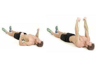 chest resistance band exercise
