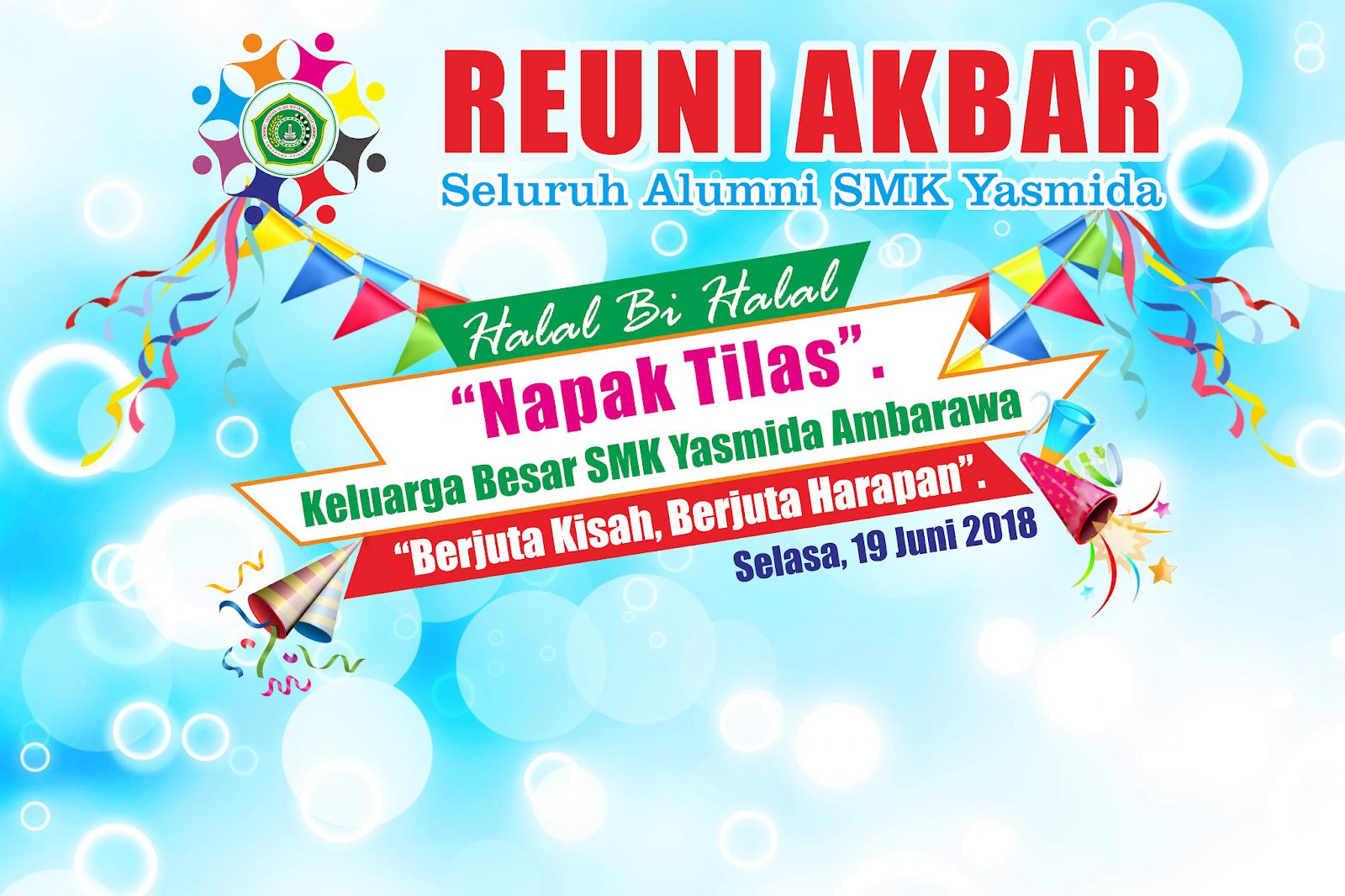 Design Banner Photobooth Reuni Akbar Alumni Abdur Rozak