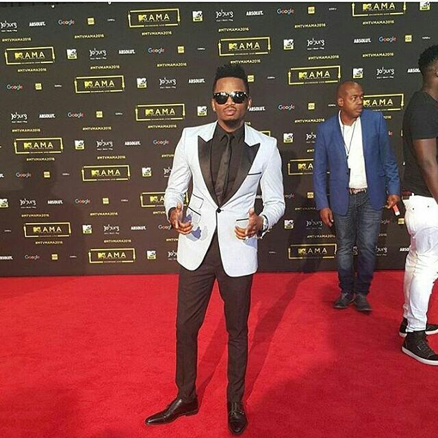 Image result for Alikiba mtv base africa awards 2016 red carpet