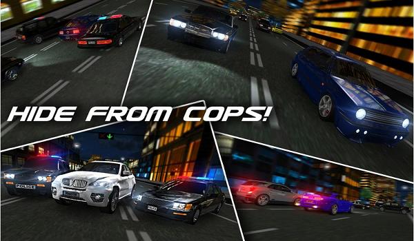 dr3 - لعبة سباق السيارات الرائعة للاندرويد Drag Racing Real 3D