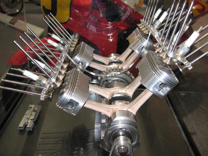 Stroke Car Engine