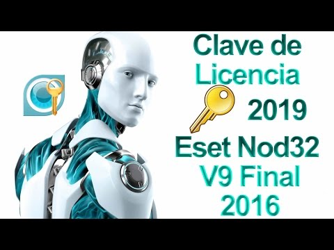 Licencias eset nod32 2019