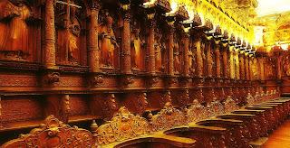 Coro em Estilo Barroco da Catedral de Cusco