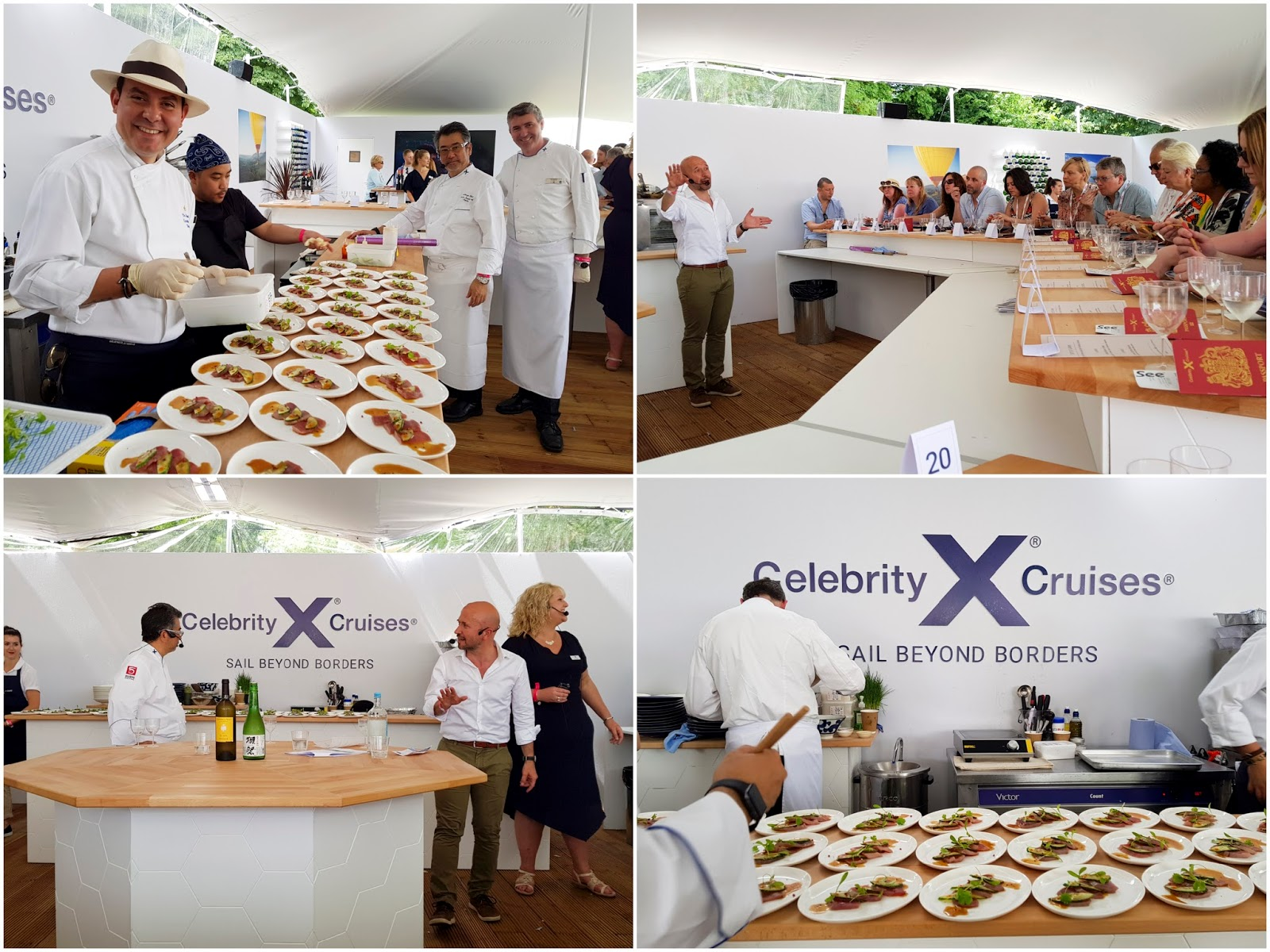 FOOD FESTIVAL | Eating With Celebrity Cruises At Taste of London