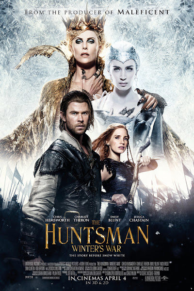 Poster of The Huntsman Winter's War 2016 EXTENDED 720p Hindi BRRip Dual Audio