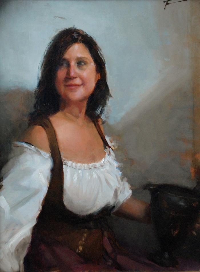 Рисунок - это родоначальник сильной живописи. Tim Rees
