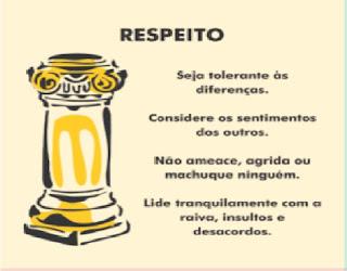 Resultado de imagem para Simbolo do Pilar Respeito Caráter Conta