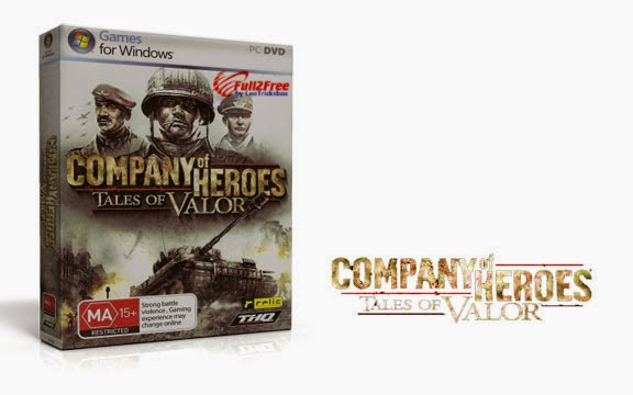 PC Game : Company of Heroes Tales of Valor-RELOADED