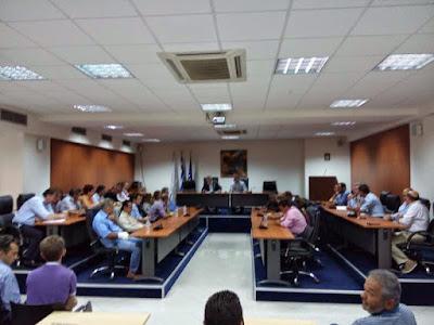 Έκτακτη συνεδρίαση του Δημοτικού Συμβουλίου Ηγουμενίτσας