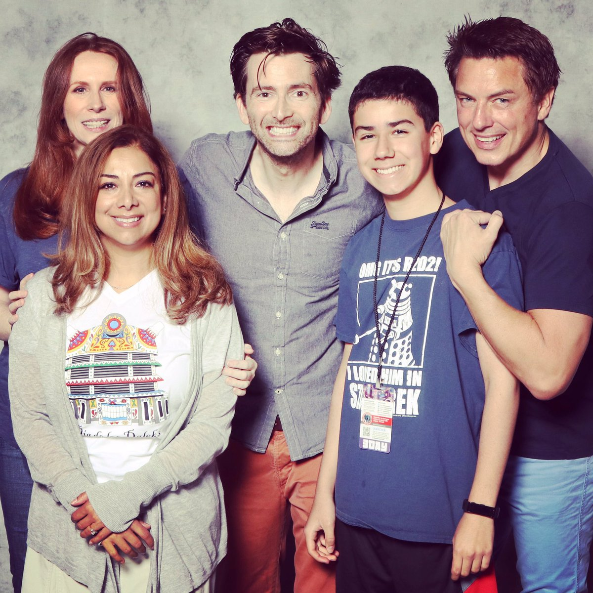 On Saturday 17th And Sunday 18th June 2017 David Tennant John Barrowman Catherine Tate Attended The Awesome Con Fan Convention In Washington DC