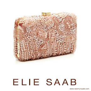 Princess Madeleine carried Elie Saab Blush Clutch