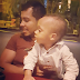 Uche Jombo shares cute photo of her hubby and son