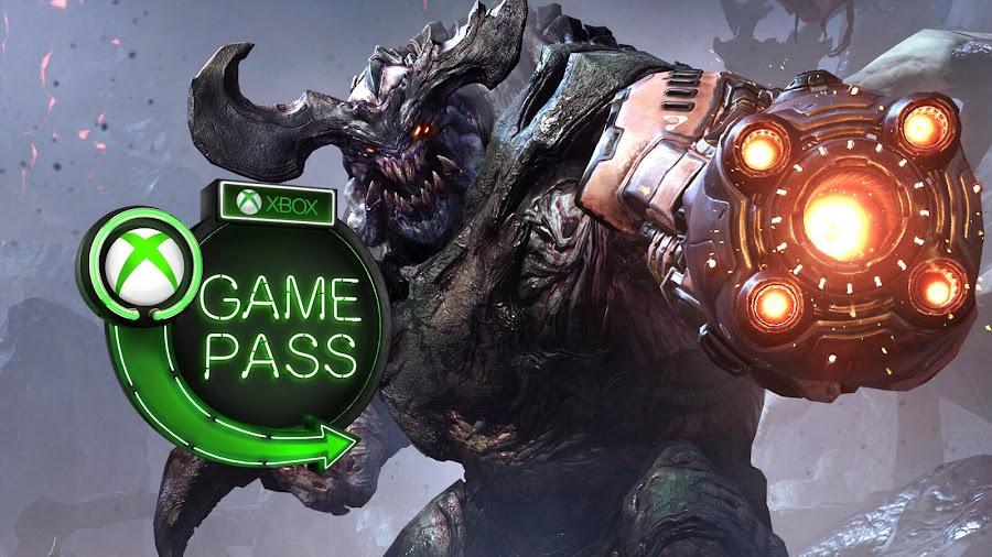 xbox game pass doom 2018