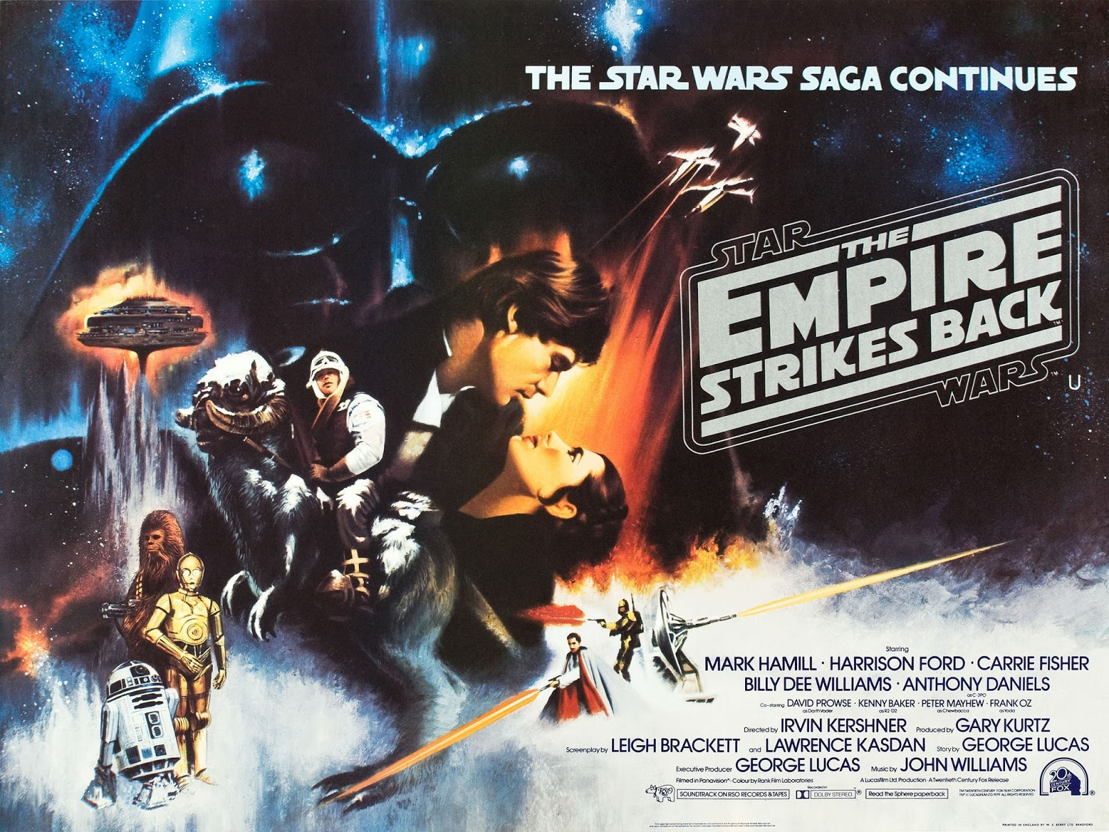 David S Cave My Favorite Films Star Wars Episode V The Empire Strikes Back 1980